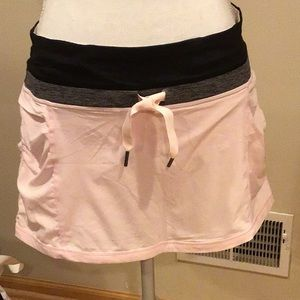 Lululemon pale pink skirt